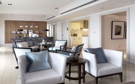 124平宜家风格三居室装修效果图