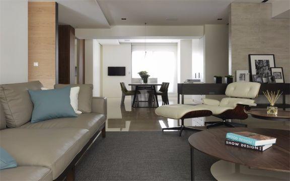 纯净客厅效果图