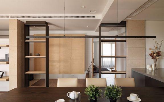 餐厅隔断现代风格装饰图片