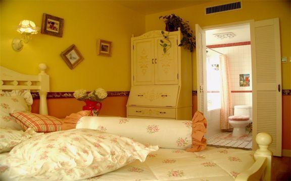卧室床美式风格装饰效果图