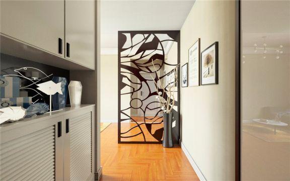 玄关隔断北欧风格装饰效果图