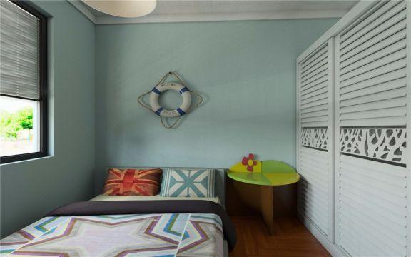 儿童房细节北欧风格装饰图片