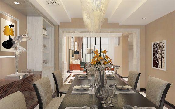 厨房餐桌新中式风格装饰设计图片