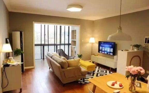 海西提两室两厅69平日式风格装修效果图