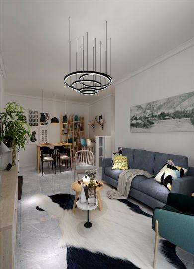 阳光房细节北欧风格装饰图片