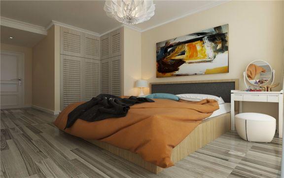 逸秀园116平米两居室北欧风格装修效果图