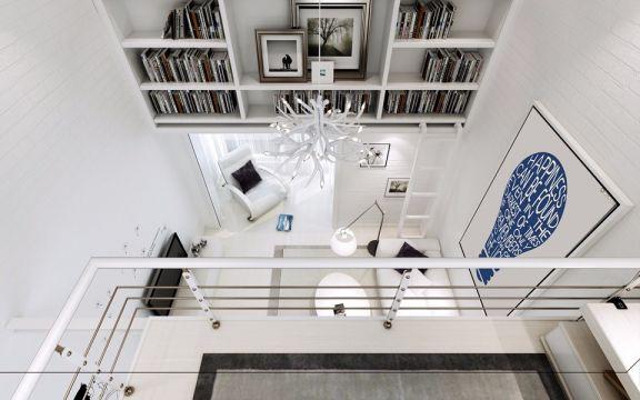 客厅灯具北欧风格装饰图片
