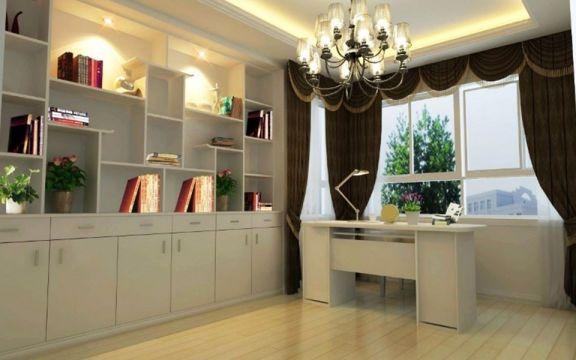 书房书桌欧式风格装修效果图