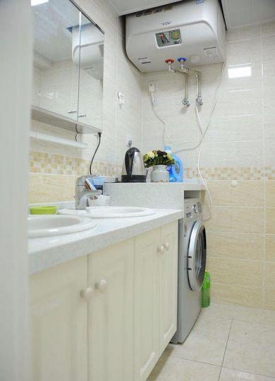 卫生间洗漱台简约风格装修图片