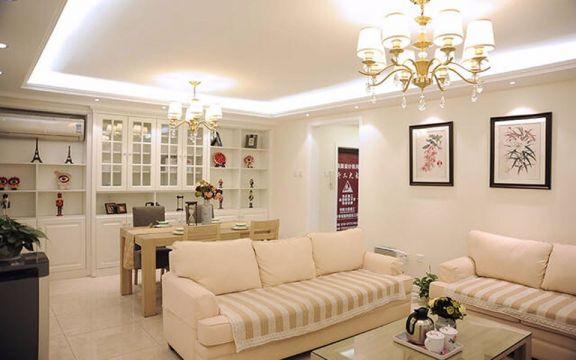 客厅沙发简约风格效果图