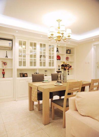 餐厅白色吊顶简约风格装饰效果图