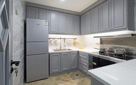 厨房厨房岛台美式风格装修效果图
