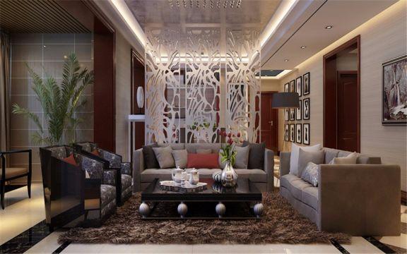 简欧风格160平米四室两厅新房装修效果图