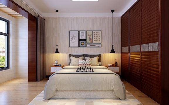 卧室衣柜新中式风格装饰效果图