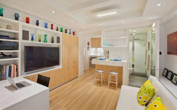 日式风格2房70平方装修效果图
