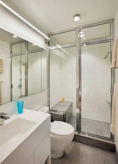 卫生间洗漱台日式风格效果图