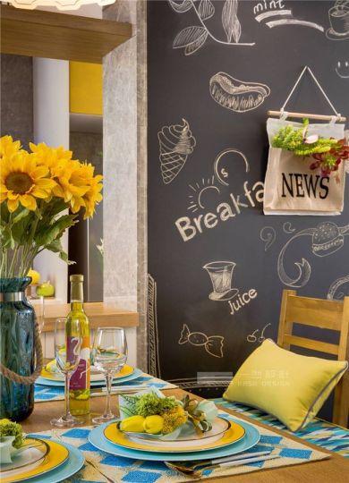 餐厅餐桌简约风格效果图