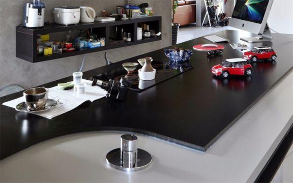 餐厅餐桌简单风格装潢效果图