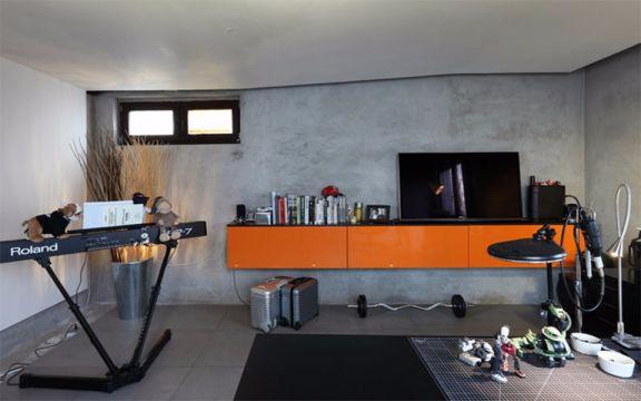 盛汇高馆80平单身公寓装修效果图