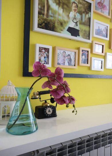 餐厅照片墙欧式风格装修图片