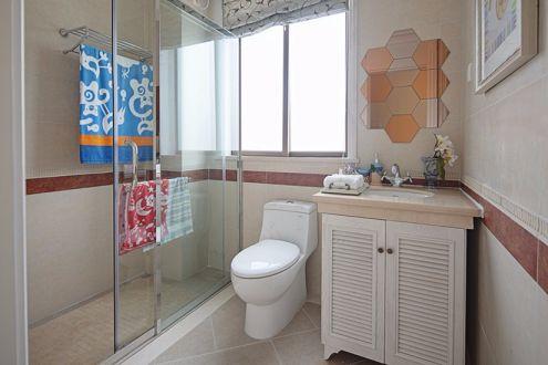 卫生间洗漱台地中海风格效果图