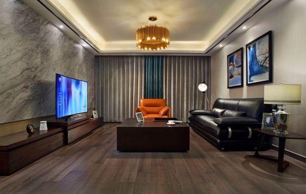 现代风格140平米三室两厅新房装修效果图
