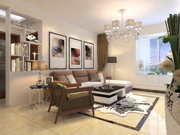客厅照片墙现代简约风格装饰设计图片