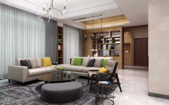 130平方简约三房两厅效果图