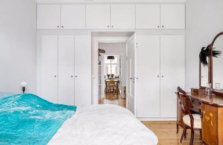 卧室衣柜北欧风格装修图片