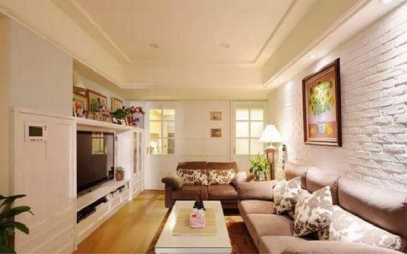 客厅细节田园风格装修设计图片