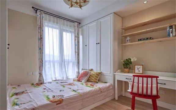 儿童房细节现代简约风格装潢效果图