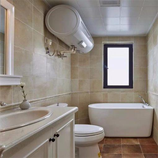 卫生间地砖现代简约风格装潢图片