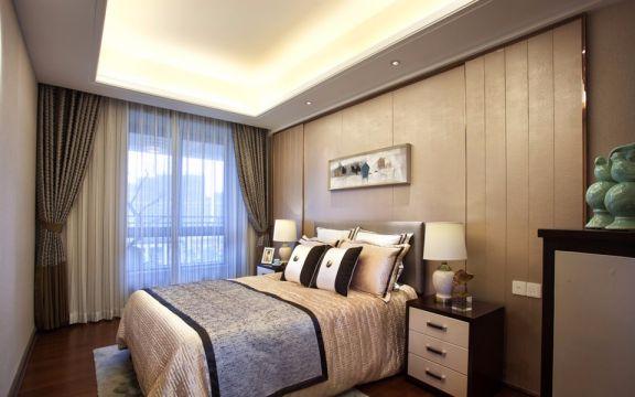 卧室床头柜混搭风格装潢图片
