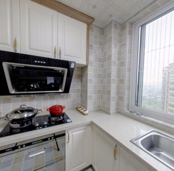 厨房厨房岛台田园风格装修图片