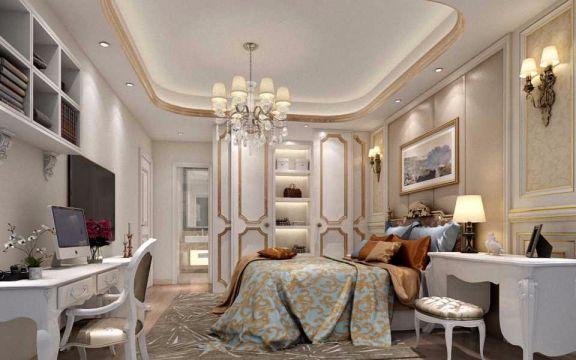 卧室白色衣柜欧式风格装修图片