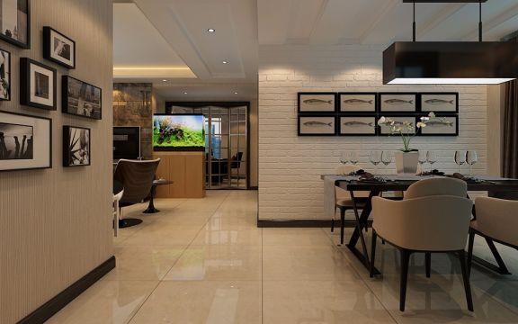 餐厅走廊现代简约风格装修效果图