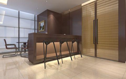 300平现代风格办公室装修效果图