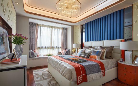 卧室飘窗现代风格效果图