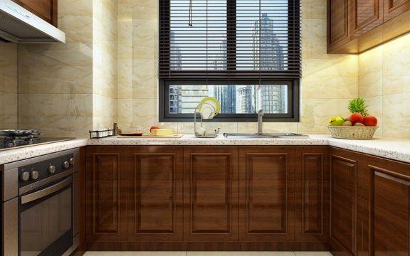 厨房橱柜中式风格装饰效果图