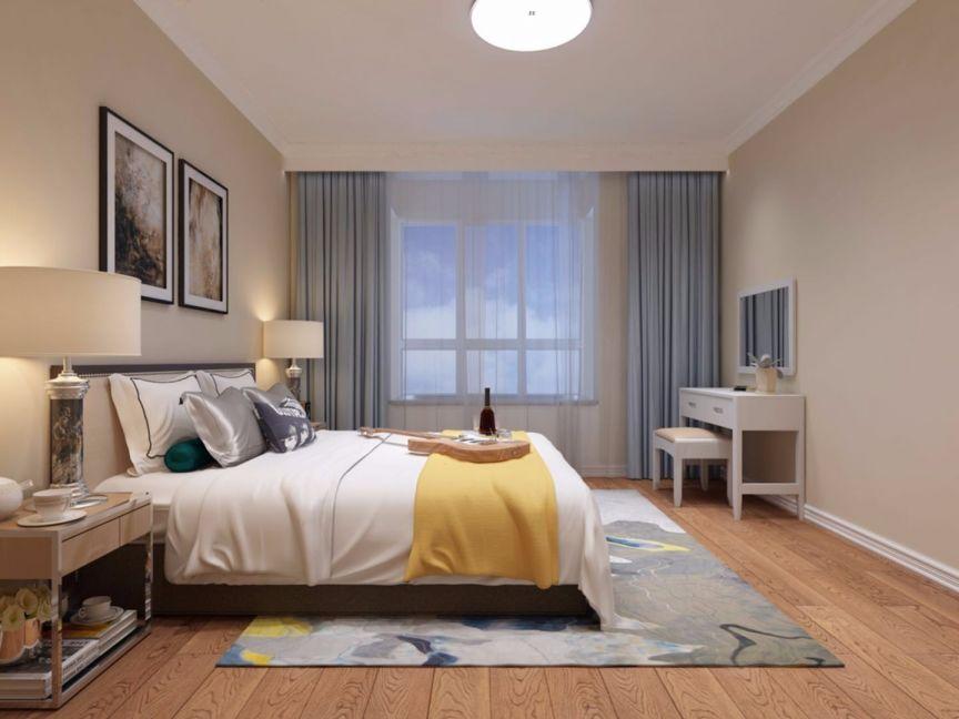 卧室梳妆台现代简约风格装修设计图片