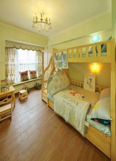 儿童房床简欧风格效果图