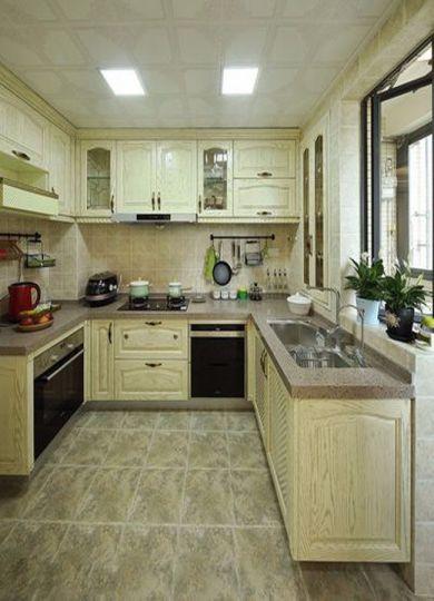 厨房简欧风格装修效果图
