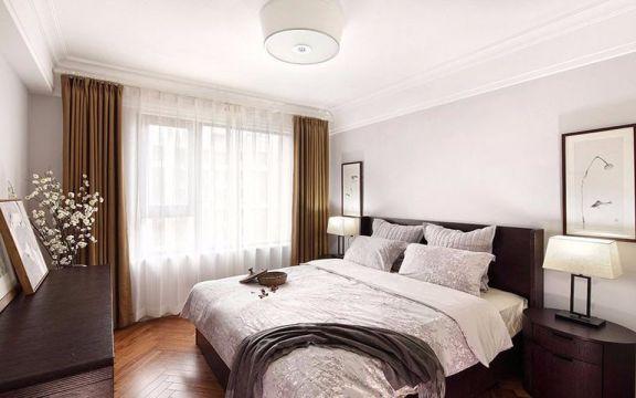 卧室中式风格装潢效果图