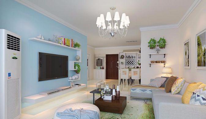 起居室沙发简约风格装修图片