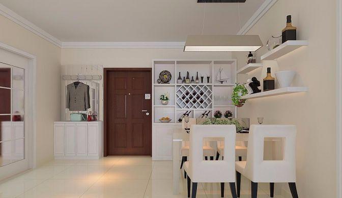 玄关门厅简约风格装饰设计图片