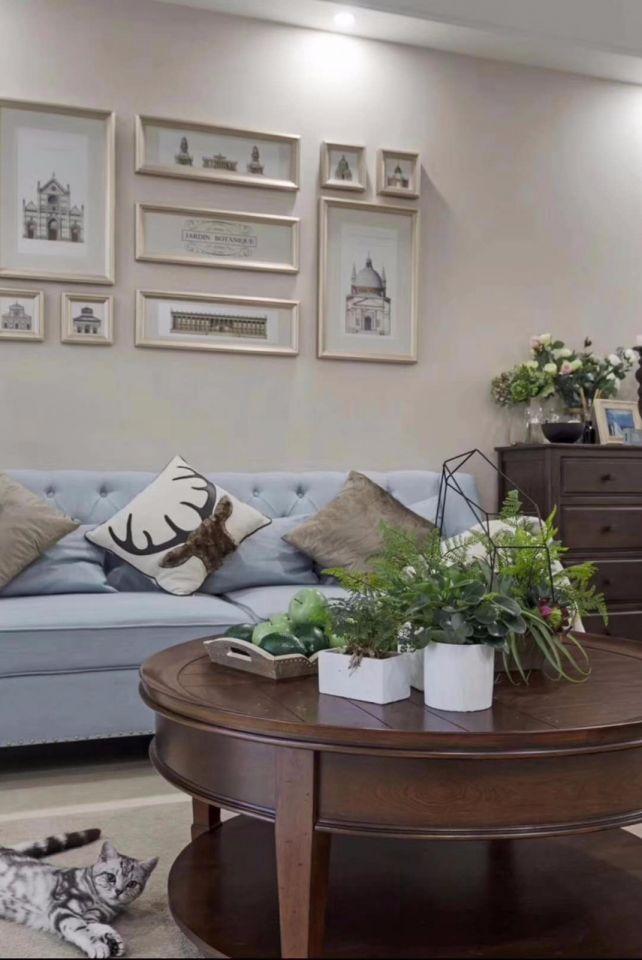 客厅沙发美式风格效果图