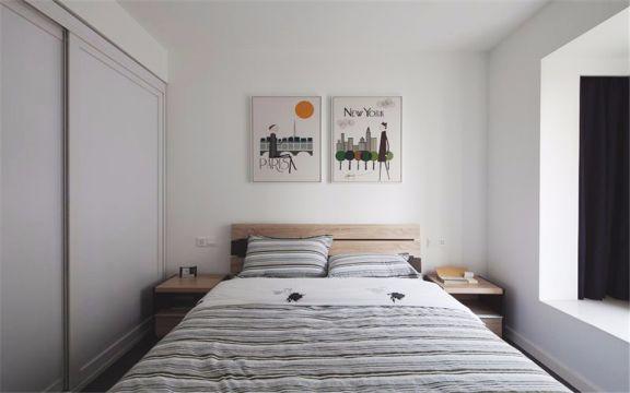 兴元嘉园120平现代三室两厅两卫装修效果图