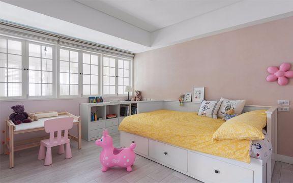 儿童房榻榻米美式风格装修效果图