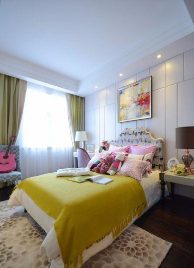 儿童房床美式风格效果图