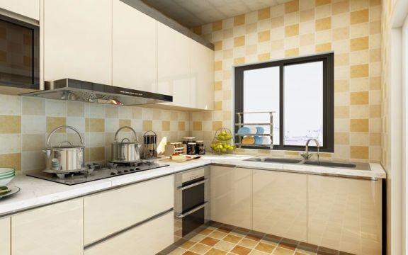 欧式风格93平米三室两厅新房装修效果图